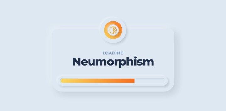 Neumorphism UI 2020